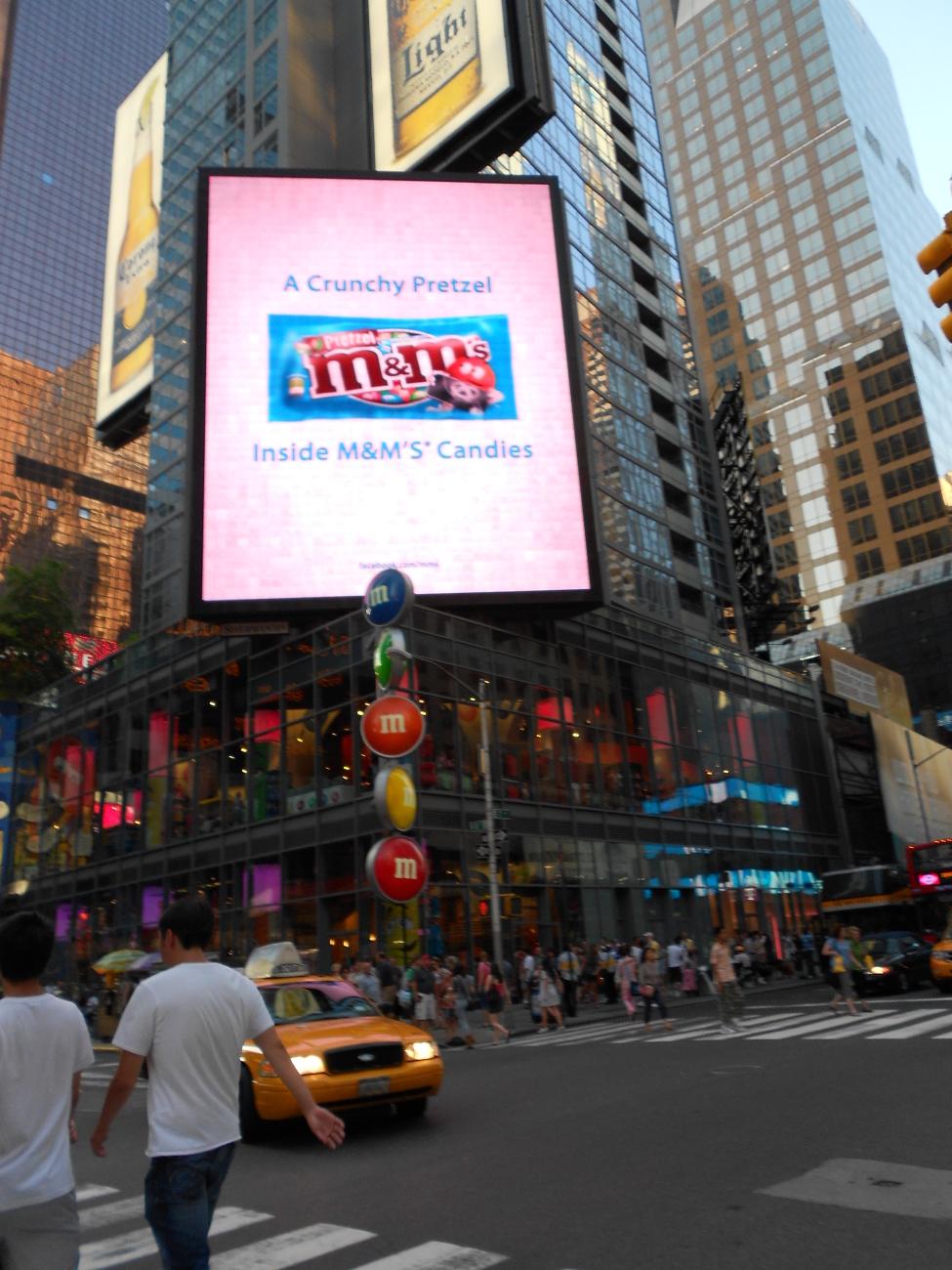 New York M&M store