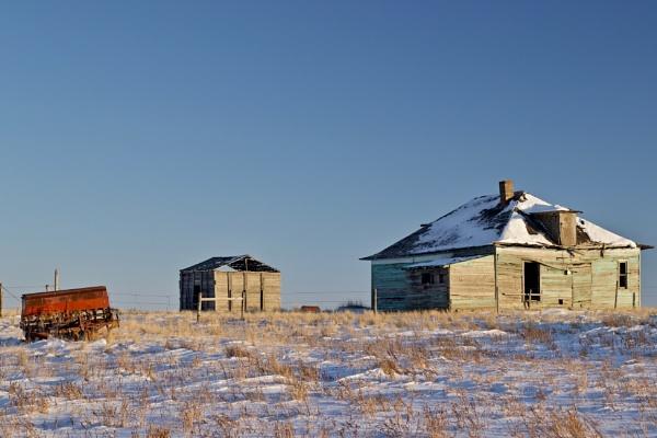 The old  farmyard by waltknox
