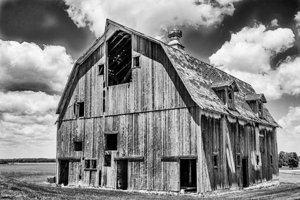 Wyoming barn by BiffoClick