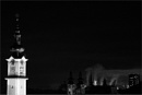 church towers and industry by bliba