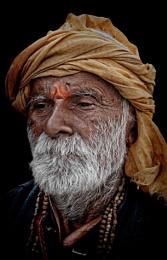 Portrait of a wandering pilgrim