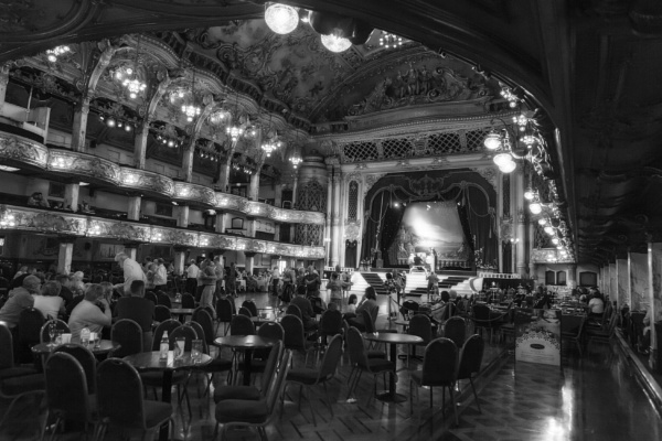 Tower Ballroom Blackpool by Curtain