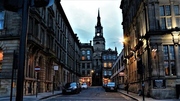 Newcastle side street , by Sheddy