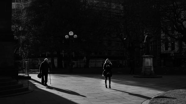 Saturday Shadows II by optik