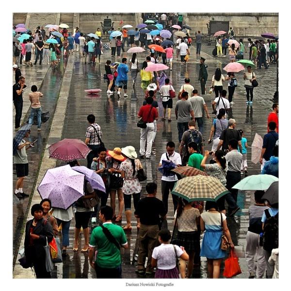 walking in the rain by papajedi