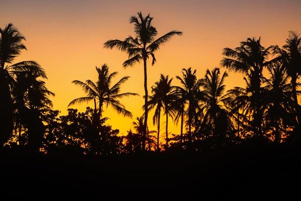 Brazil sunset