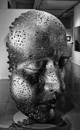 Sculpture by Korean artist Seo Young Deok's