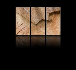 Chopped log