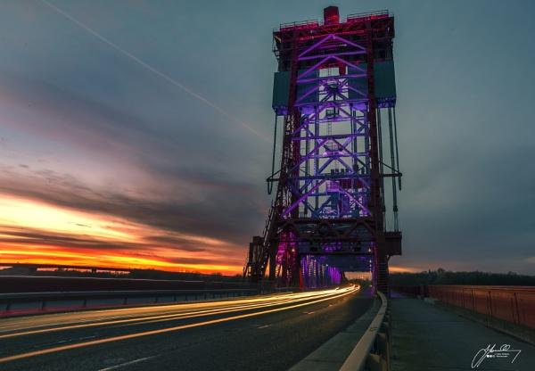 Newport Bridge by JohnT1974