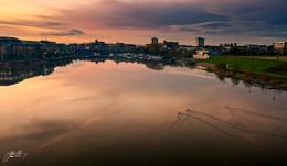 Stockton sunset