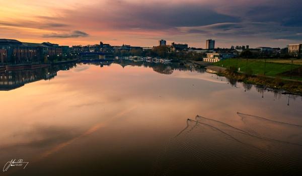 Stockton sunset by JohnT1974