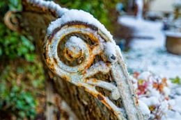 Snow and rust