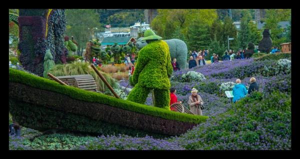 MOSAICANADA150 Gardens in Gatineau by sarumboy