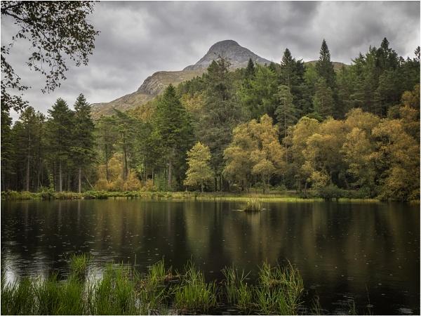 Rainy Day Glencoe Lochan