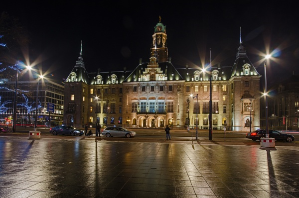 Rotterdam Town hall by joop_