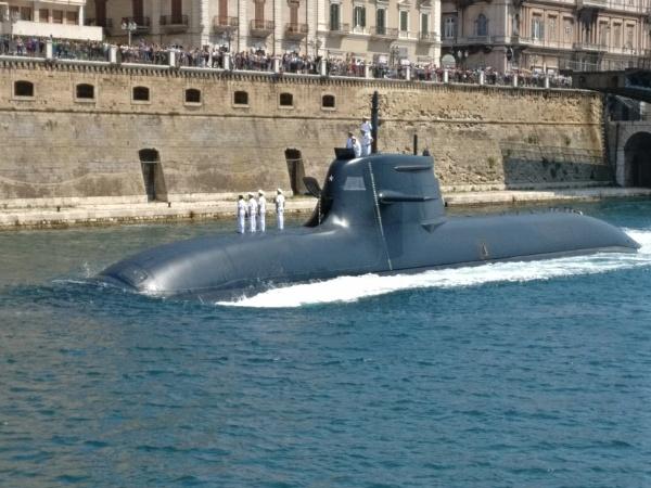 """Submarine in the \""""Small Sea\"""" Taranto by demi63"""