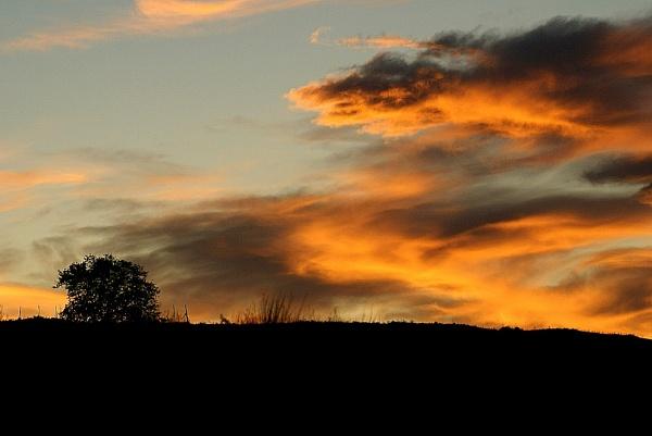 Sunrise at Monte Tuscolo