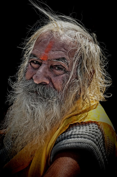 The morning sadhu by sawsengee
