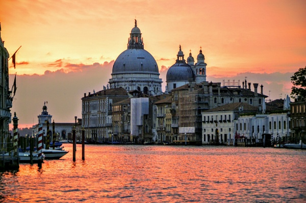 Venetian Sunrise by budapestbill