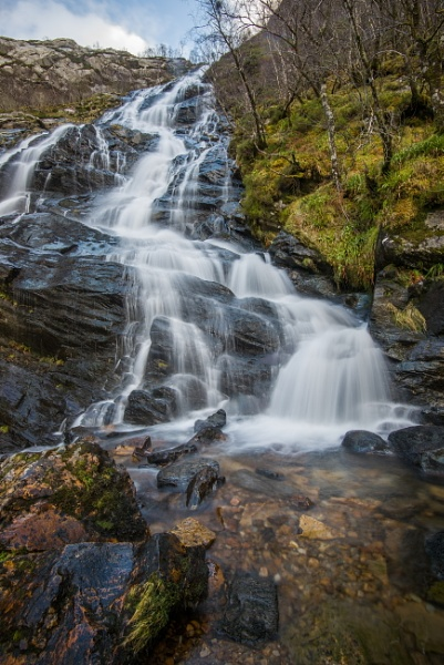 Steall Waterfall by icphoto