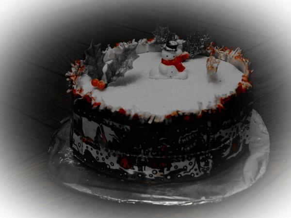 CHRISTMAS CAKE. by kojack