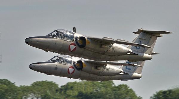 Saab 1050E Austrian Air Force by nealie