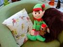 Elfie and Mr Prickles by Nikonuser1