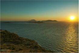 Staring at beautiful Aegean sea