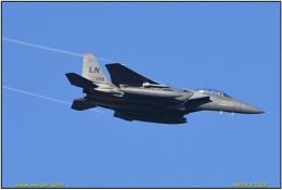 Lakenheath F15e at Donna Nook.