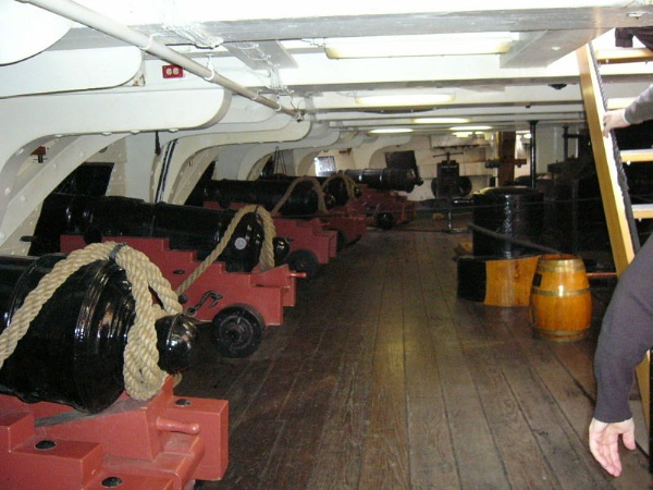 Gun Deck uss Constitution by Don20