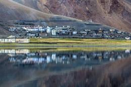 Photo : Tso Moriri in Ladakh