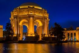 Palace of Fine Arts, San Francisco, USA