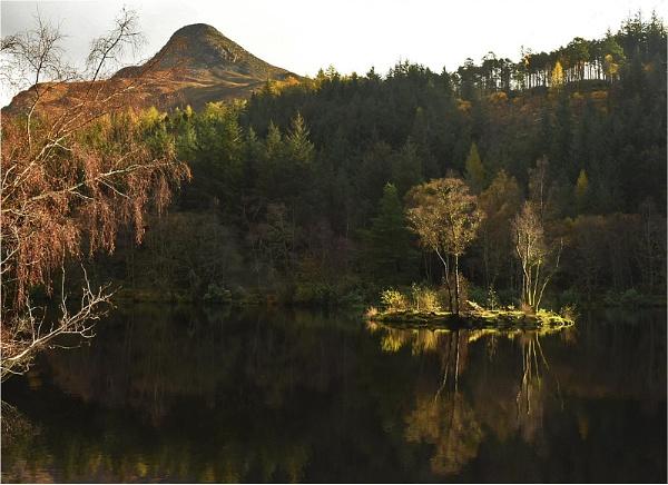 Island, Glencoe Lochan by MalcolmM