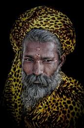 "the ""leopard"" sadhu"
