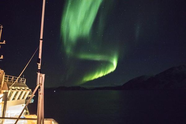 Aurora Borealis by videocass
