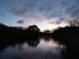 Moving Clouds at Ornamental Lake