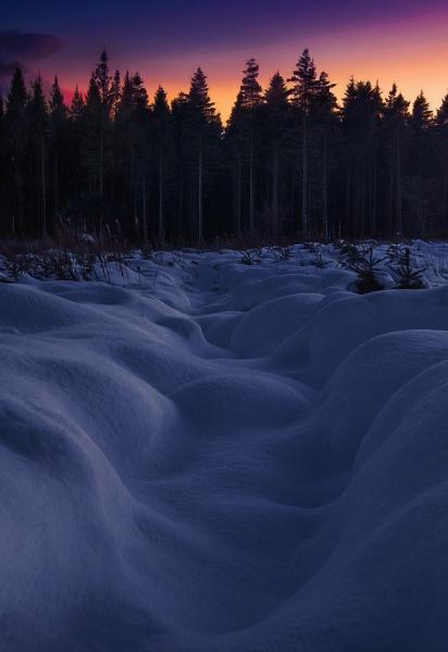 Irish snow dunes by brzydki_pijak