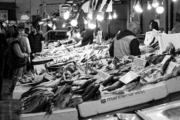 Fish market. Athens.