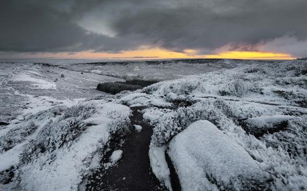 Burbage Winter by Trevhas