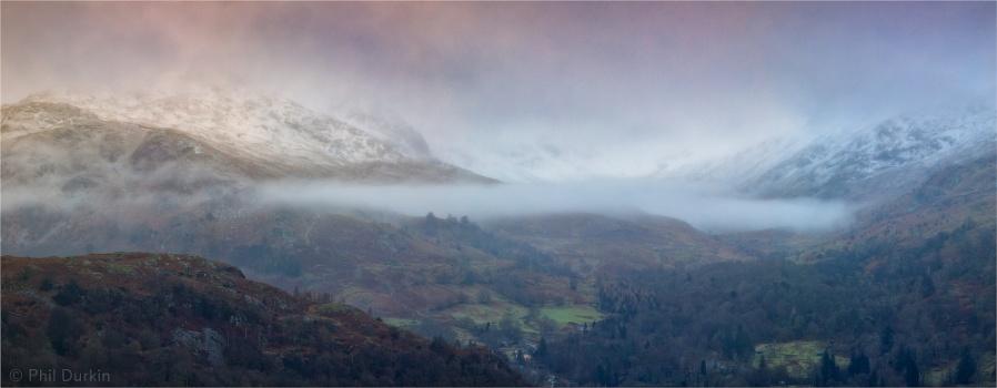 Helvellyn In The Mist