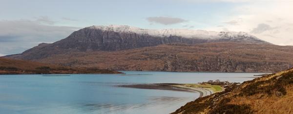Across Ardmair Bay to Ben More Coigach by NevJB