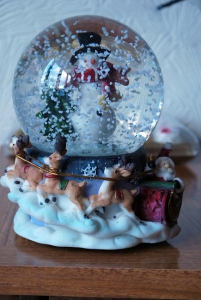 Second Snow Globe.