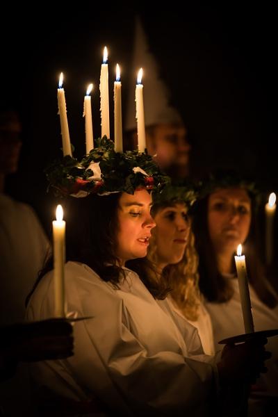 Swedish Christmas Choir Girl by davetheo