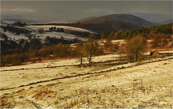 Early Winter, Glen Prosen by MalcolmM