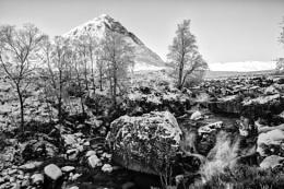 Buchaille in winter