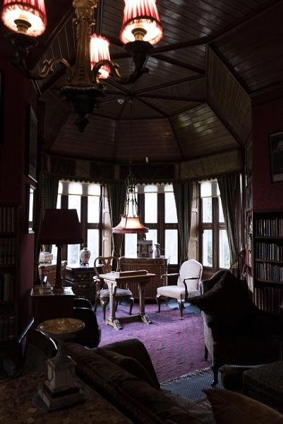 Lauriston Castle. Interior. by AJG