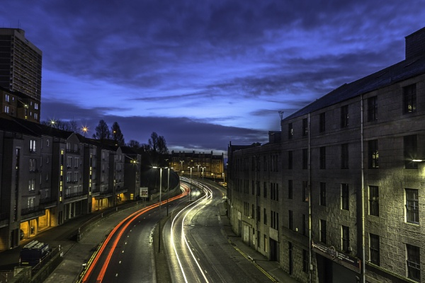 Light Trails. by MalkyG