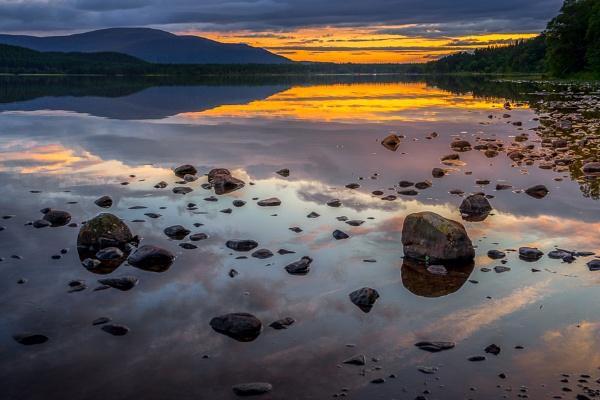 Loch Morlich at sunset by Phil_Bird