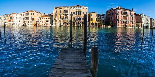 Grand Canal, Venice by Dixxipix