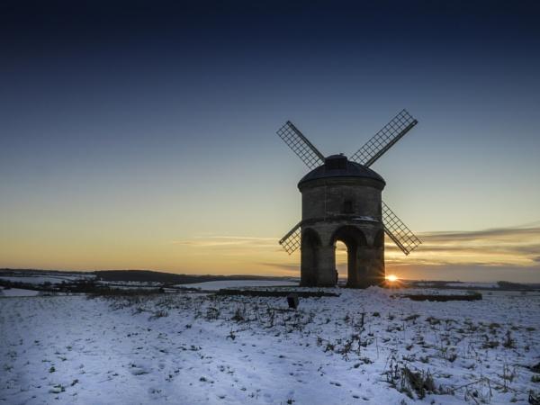 Winter Windmill by CraigWalker